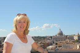 Heather at Castel Sant'Angelo, William G - October 2010