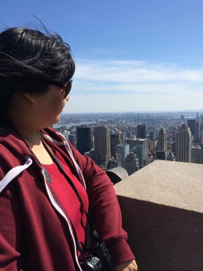 Looking out over manhattan - New York City
