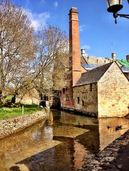 The old mill in Lower Slaughter, highlight of the Cotswolds for me. , Skootre - April 2012