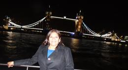 Photo of London The London Showboat Dinner Cruise on the Thames River Me!!!