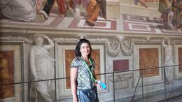 Photo of Rome Viator VIP: Sistine Chapel Private Viewing and Small-Group Tour of the Vatican's Secret Rooms My wife