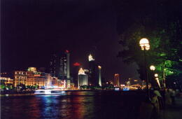 By the Pearl River at night - May 2012
