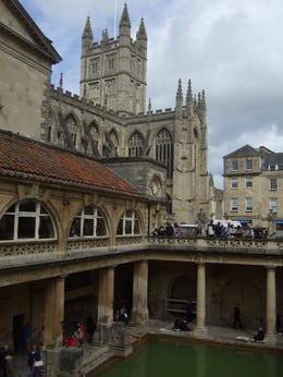 Took a nice photo of the Great Bath. , Fenix A - May 2013