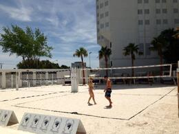 Volleyball, still early on though, Mike T - June 2013