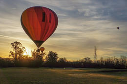Photo of Napa & Sonoma Napa Valley Hot-Air Balloon Ride with Sparkling Wine Brunch sunlit balloon