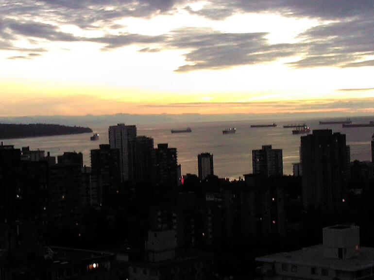 Sunset in Vancouver - Vancouver