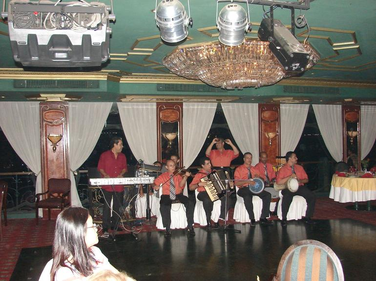 The Band in the Nile Maxim Dinner Cruise - Cairo