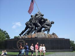 Photo of Washington DC Washington DC in One Day: Small-Group Sightseeing Tour US Marine Corp War Memorial