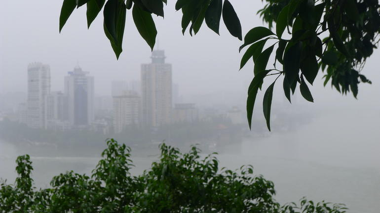 View from the trail - Chengdu