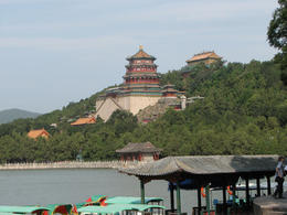 View of the Summer Palace in the distance. It's a beautiful setting, very relaxing and calming., Bandit - May 2012