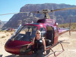 In the middle of the Grand Canyon. , caroline d - September 2011
