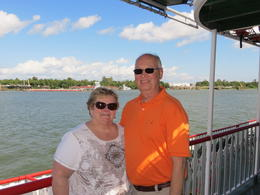 Me and my husband enjoying the beautiful Mississippi........ , ROBERT S - October 2013