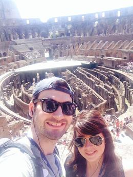 At the Colosseum!! , Courtney Paige - August 2014