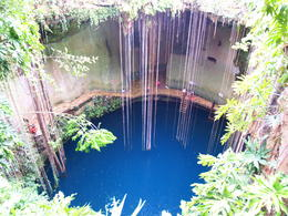 The Cenote where they let you swim. , SANTOSH V M - June 2011