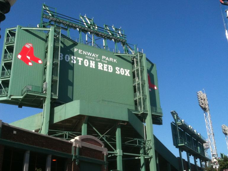 Fenway Park Scoreboard - Boston