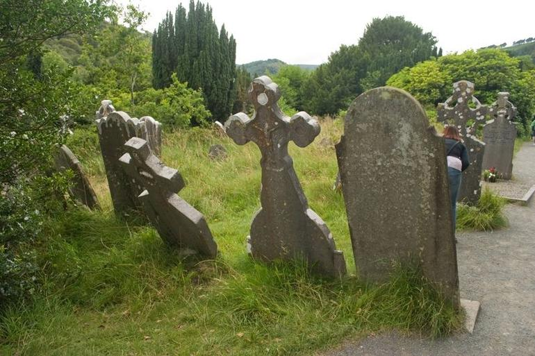 Graveyard at Glendalough - Dublin