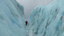 Photo of Franz Josef & Fox Glacier Small-Group Franz Josef Glacier Walk Guide leading the way