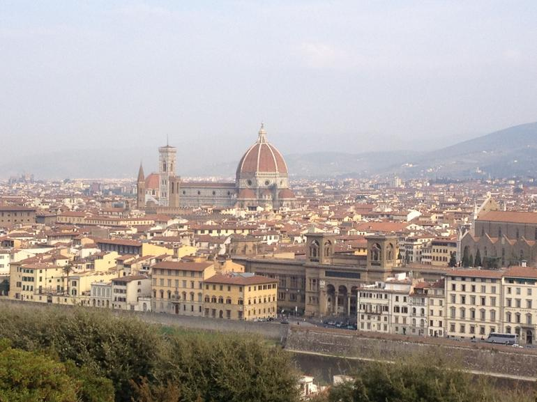 Piazza Michel Angello View - Florence