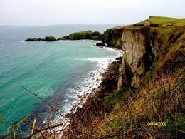 We took a great walk along the coast to a rope bridge. - April 2009
