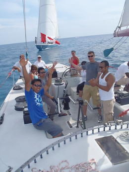 Photo of St Maarten St. Maarten 12 Metre Challenge Our awesome crew