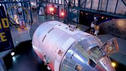 Photo of Orlando Kennedy Space Center at Cape Canaveral Saturn V exhibit