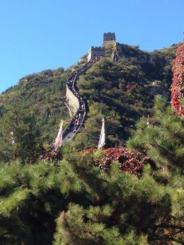 The weather was great, and the views of the Great Wall were spectacular. , Rhilda Faye S - October 2013