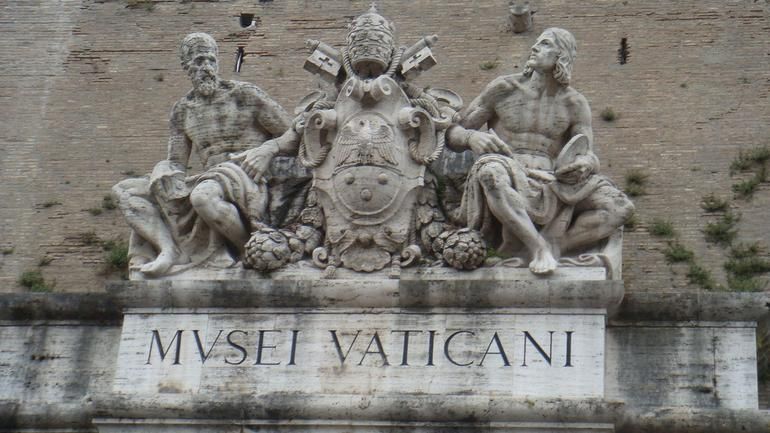 The entrance to the Vatican - Florence