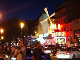 This was a great shot of the Moulin Rouge at night. , Anastasia M - August 2013
