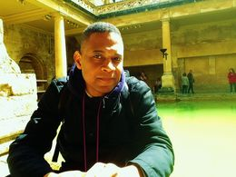 Antonio Patton at the Roman Baths just one of the stops on the tour. , Antonio P - May 2015