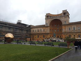 The courtyard at the Vatican in Rome, Italy , Martine J - February 2014