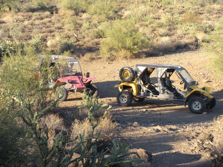 Tomcars! Really neat off-roading vehicles, Sonoran Desert - Phoenix