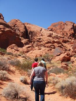 Easy hike at Valley of Fire - March 2009