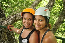 Photo of Cancun Cancun Combo Tour: ATV and Zipline with Cenote Swim Ziplining in the Mexican Rainforest