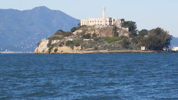 View of the rock from the ferry. , Ralph T - November 2014
