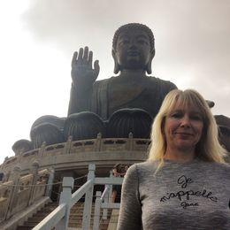 The obligatory Big Buddha selfie Joking aside its an awe inspiring piece religious art, beautifully preserved in a spectacular location , Jane J - November 2015