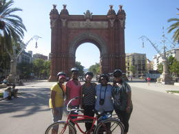 Photo of Barcelona Barcelona Half-Day Bike Tour Biking in Barcelona