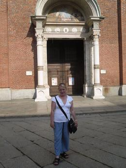 Outside Santa maria de la Grazie, ALEX F - July 2010