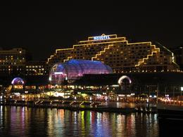 Photo of   Darling Harbour at night