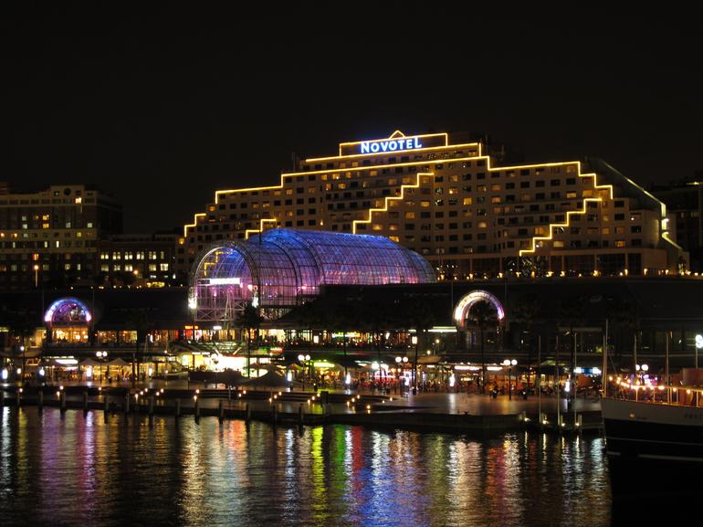 Darling Harbour at night - Sydney