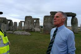 Photo of London Private Viewing of Stonehenge including Bath and Lacock David, our guide for the day - at Stonehenge.