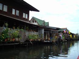 Photo of Bangkok Bangkok Canals Cruise including Grand Palace and Wat Arun Going through canal, Bangkok