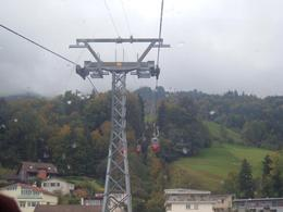 On the Gondola ride., Bosede S - October 2007