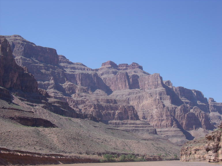 Grand Canyon from our boat - Las Vegas