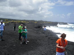 Kalapana lava beach, Big Island , PATRICIA C - June 2011