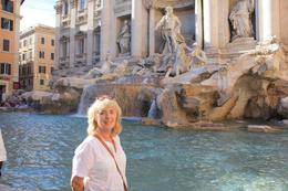 Heather at the Trevi Fountain, William G - October 2010