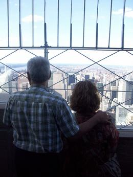 Photo of New York City Empire State Building Tickets - Observatory and Optional Skip the Line Tickets Love is in the air or should I say the empire state building.