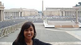 Photo of Florence Skip the Line: Florence Accademia and Uffizi Gallery Tour Me - Sadaf view of St. Peter's Square