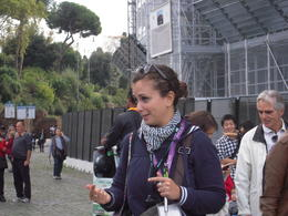 Photo of Rome Skip the Line: Ancient Rome and Colosseum Half-Day Walking Tour Our wonderful guide Sara.