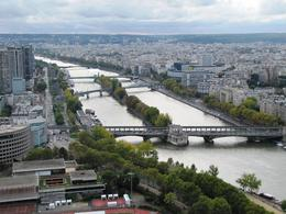 Photo of Paris Paris City Tour, Seine River Cruise and Eiffel Tower Seine seen from the Eiffel Tower