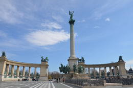 Photo of Vienna Budapest Day Trip from Vienna the hero square...